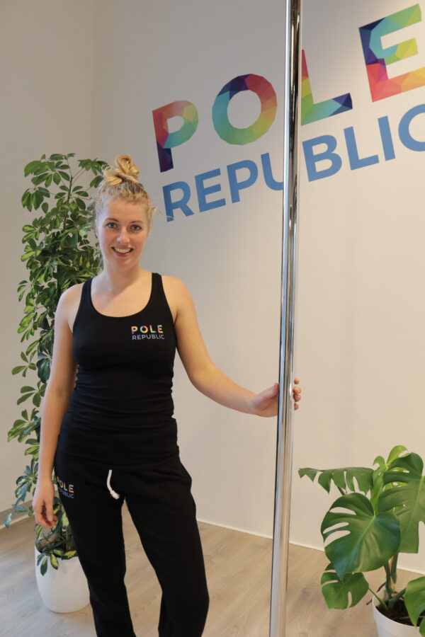 Pole Republic woman's razer back (front)