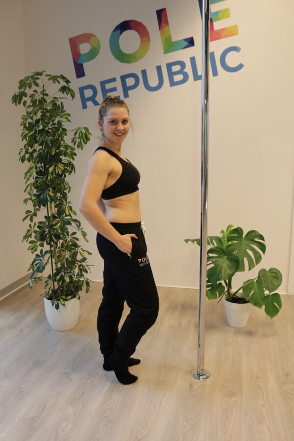 Pole Republic sweatpants (side)