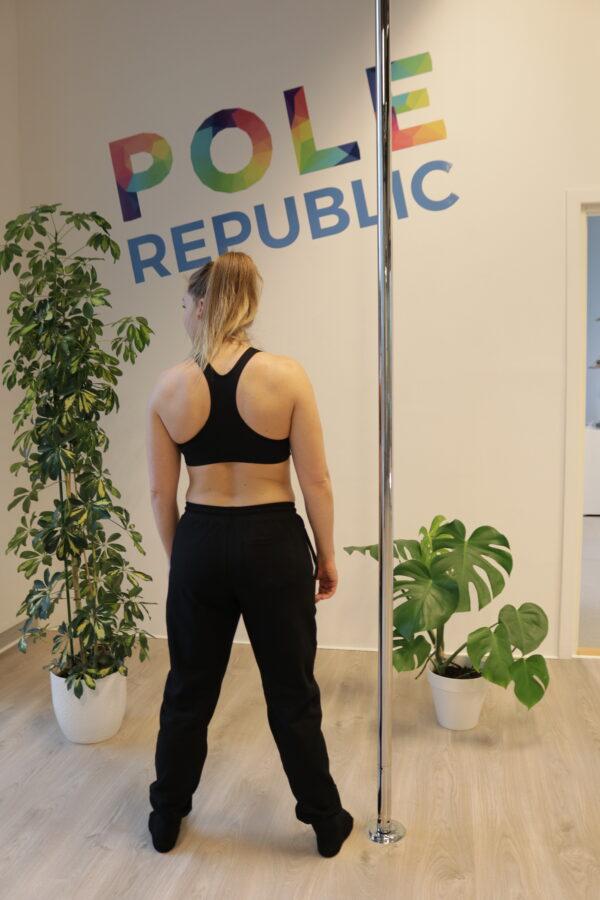 Pole Republic sweatpants (back)